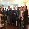 A Chinese architects delegation in Paris